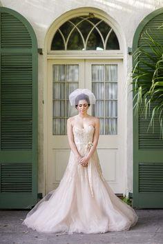Stunning Romantic Watercolor Wedding Inspiration Shoot