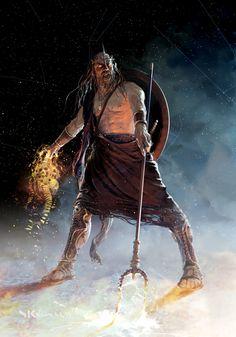 Greek God Hades concept for Mythic Battles: Pantheon.