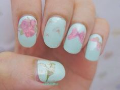 Video: Butterfly Full Nail Wrap! | chichicho~ nail art addicts