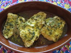 A Simple Spanish Recipe for Flounder with Orange Sauce
