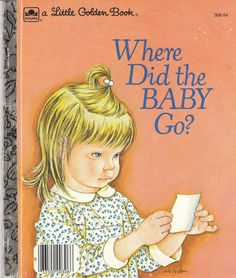Where Did The Baby Go 1974 Little Golden Book Eloise Wilkin Beagle Sheila Hayes | eBay