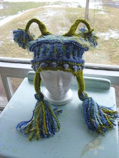 The Martians R Coming knit hat