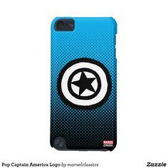 Pop Captain America Logo