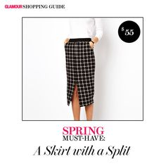 A Skirt w/ a Split: 10 Must-Have Pieces to Add to Your Spring Wardrobe