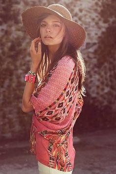summer bohemian style clothing