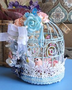 Altered Bird Cage - Designer: Deb Edwards