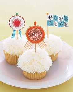 Banderitas para Cupcakes
