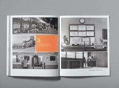 Portfolio book page layout design