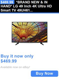 Smart TV: *Brand New And In Hand* Lg 49 Inch 4K Ultra Hd Smart Tv 49Uh6100 Uhd Tv Webos 3.0 BUY IT NOW ONLY: $469.99