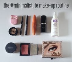 all the minimalist | Below is all the makeup I own! It gets me through my daily beauty ...