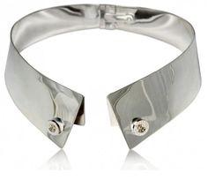 le top : Delfina Delettrez  silver collar !!