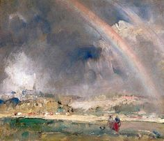art-is-art-is-art:  The Rainbow, Edward Seago - #Art #LoveArt https://wp.me/p6qjkV-bHK