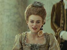 The Duchess dir. The Duchess Of Devonshire, Keira Knightley, Period Dramas, Flower Girl Dresses, Romance, Actresses, Wedding Dresses, Inspiration, Style