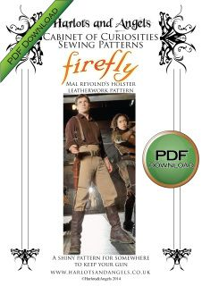 """PLEASE NOTE THIS LISTING IS NOT FOR THE FINISHED HOLSTER! This great Leather work pattern allows you to recreate Mal Reynold's leather custom revolver holster for the forever loved TV show """"Firefly"""" So grab your Browncoat, put on your Holster and fly off in serenity to conquer the verse. Instant PDF download for Mal's gun holster from Firefly. Full pattern printing and assembly instructions. Prints full sized pattern on USA letter or A4 paper All PATTERNS are exclusively designed by HARLOTS…"""