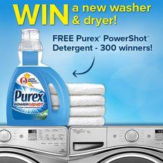 Purex PowerShot Sweepstakes