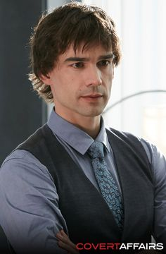 Auggie Anderson. Don't miss tomorrow's all-new episode of Covert Affairs.