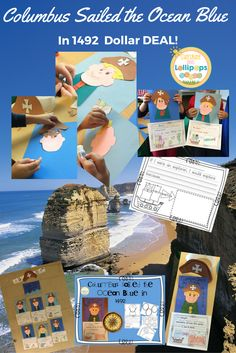 I don't know about YOU, but I do know that I love to use crafts that compliment learning especially when we are celebrating special days or Holidays. This is one of my all time favorites.  First we talk about Christopher Columbus and discuss what an explorer is and then we write about what or where we would like to explore. Then we make ourselves as explorers and did I mention that the Kiddos LOVE this?  AND...it is only $1.00!!!