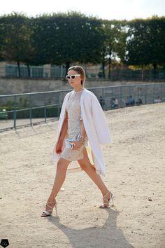 streetsfinest :  cgstreetstyle :  Kristina Bazan por Claire Guillon