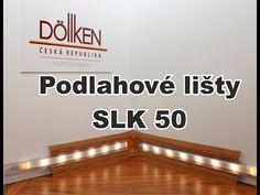 Jak namontovat podlahovou lištu Doellken SLK 50 a osvětlení lišty - YouTube
