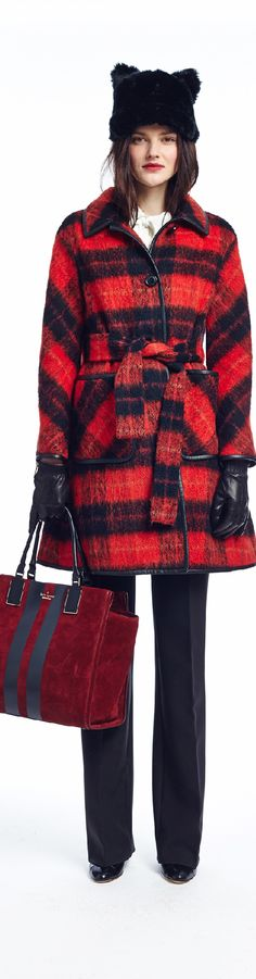 ⌘ Timeless Tartan ♣️ Fall 2015 Ready-to-Wear Kate Spade New York
