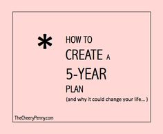 5 year goal plan template - 1000 images about goals on pinterest 5 year plan