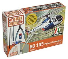 Italeri My First Model Kit BO 105 Police Helicopter -- Read more  at the image link.Note:It is affiliate link to Amazon.