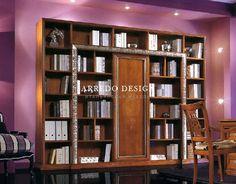Книжный шкаф Exclusive 702E4700 | Элитная итальянская мебель от Arredo Design в Киеве