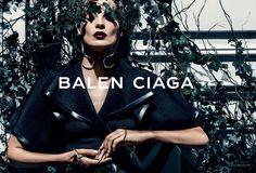 Daria Werbowy by Steven Klein for Balenciaga Spring/Summer 2014 Campaign