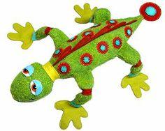 Blog de Goanna: Molde de Reptil en Fieltro. Patron gratuit