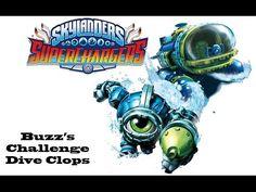 Skylanders Superchargers - Buzz's Challenge: Dive Clops