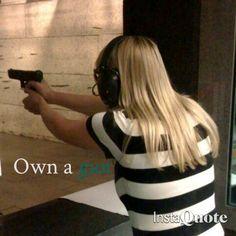 YEAS! I took 2 years of shooting classes im responsible enof to GET A GUN MOM!!!!