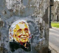 La Pasionaria. Barcelona. 2013 Graffiti, Street Art Love, Street Mural, Bansky, Identity, Hyperrealism, Mural Art, Artist Names, Community Art
