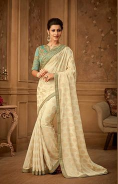 Sarees online shopping and check latest collection in silk sarees at india's best online shopping store. Buy this attractive banarasi silk trendy saree. Latest Indian Saree, Indian Sarees Online, Indian Gowns, Designer Sarees Collection, Saree Collection, Art Silk Sarees, Banarasi Sarees, Lehenga Choli, Trendy Sarees