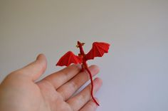 Inspiration only ...  Kim Lapsley Crochets: Micro Crochet Dragon