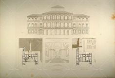 Baroque Architecture, Palazzo, Floor Plans, Flooring, How To Plan, Image, Home Decor, Architecture, Decoration Home