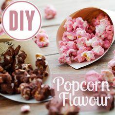 Schon mal Popcprn Chai Latte oder Popcorn Cookis & Cream probiert? Popcorn selber machen: So geht es acht Mal anders!