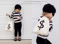 "Last Minute ""Little Bandit"" Costume 