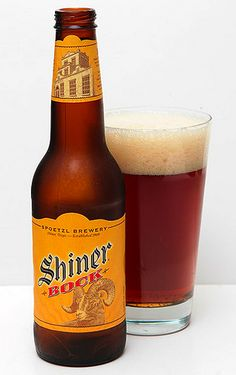Shiner Bock from the little brewery in Shiner, TX, just down the road from Franklin's BBQ Alcohol Mixers, Franklin Bbq, Beer Week, Ale, Beers Of The World, Beer Brands, Brew Pub, Best Beer, Mixed Drinks