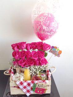 Ideas Breakfast Sorprise Birthday Mothers For 2019 Cute Birthday Gift, Diy Birthday, Presents For Teachers, Gifts For Mom, Homemade Gifts, Diy Gifts, Valentine Day Gifts, Valentines, Birthday Breakfast