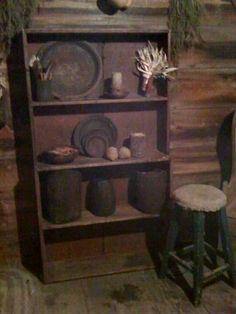 Log cabin country primitives