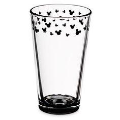 Mickey Mouse Icon Glass Tumbler