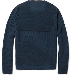 Alexander WangOttoman Ribbed Merino Wool Sweater|MR PORTER