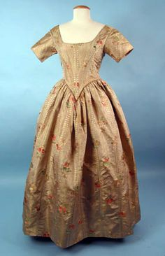 Brocade Ball Gown, 1840s March 25, 2004 - Session 2 - Lot 463 - $1,000