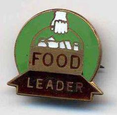 WW2 Food Leader enamel badge