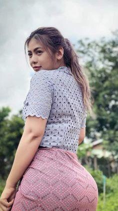 Curvy Girl Fashion, Asian Fashion, Bollywood Actress Bikini Photos, Sexy Outfits, Girl Outfits, Belle Nana, Dehati Girl Photo, Myanmar Women, Western Wear For Women