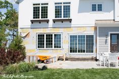 Summer Home Tour, lots of fun color and summer touches in this lake home tour. Dining Room Blue, Board And Batten, House Tours, Cottage, Exterior, Outdoor Decor, Kitchen, Summer, Color