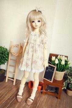 Sweet summer dress ~ Unoa Lusis by Lola · Atelier Momoni +, via Flickr
