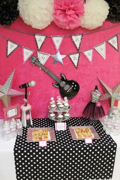 Rock Star Party - Future party for Brook when she's older?