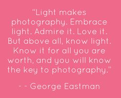 light photography quote