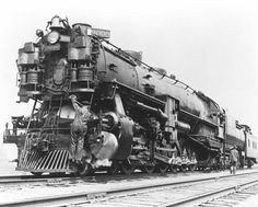 The 9000 series were three-cylinder engines, and featured the longest rigid frame of any steam locomotive ever built. They were made only fo...